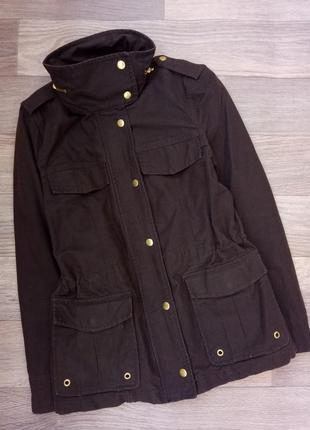 Куртка парка ветровка с воротником