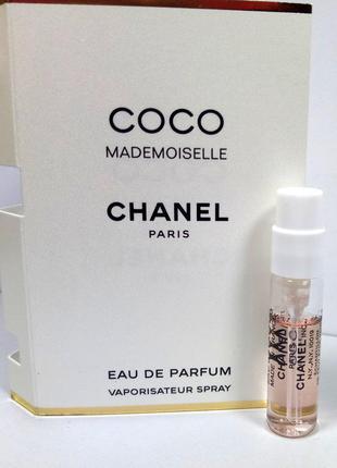 Парфюмированная вода (пробник) chanel coco mademoiselle eau de...