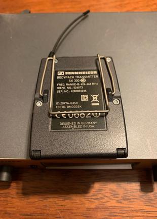 Sennheiser ew372 g3 инструментальный микрофон