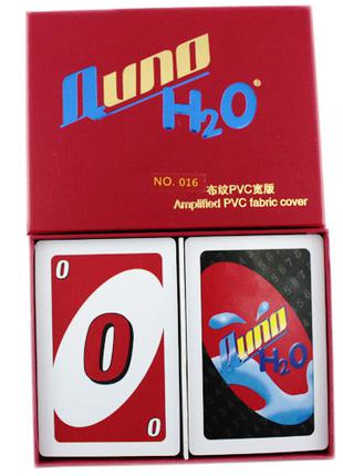 Настольная карточная игра Uno Уно, пластик, Premium 285972