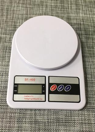 Весы кухонные электронные 7кг Sf-400