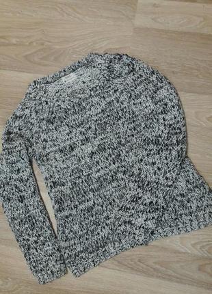 Вязаный свитер из толстой пряжи next