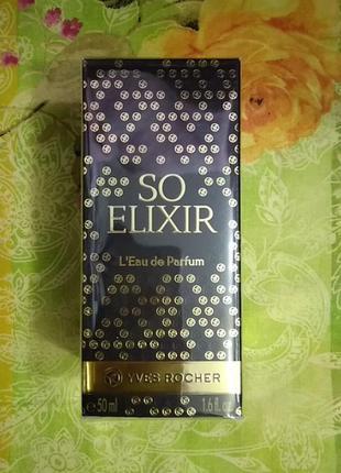 Парфюмерная вода so elixir yves rocher