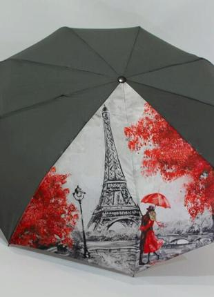 Женский зонт-автомат эйфелевая башня