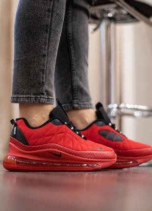 Женские зимние кроссовки на флисе Nike air max