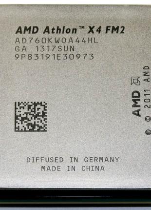 Четырехядерный AMD Athlon х4 760К 4,1 GHz Turbo, FM2