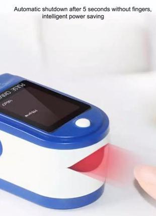 Пульсоксиметр портативный на палец пульс