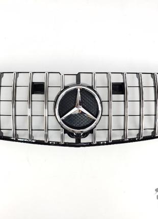 Решетка радиатора Mercedes GL W166 12-15г мерседес гл 166 решо...