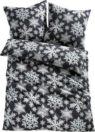 """Постільна білизна """" ❄️ Сніжинки ❄️ """" натуральна тканина ."""