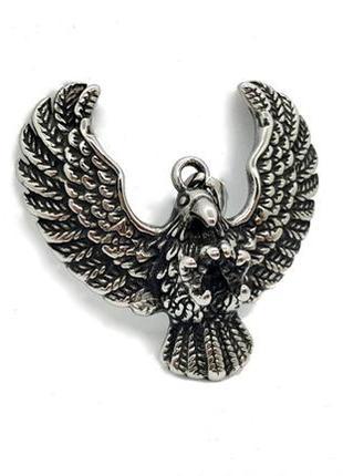 """🦅☁️ мужской кулон-подвеска """"парящий орел"""" нержавеющая сталь от..."""