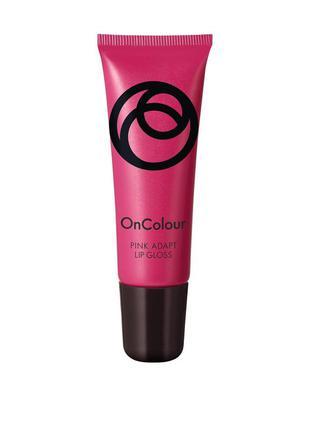 Адаптивный блеск для губ oncolour 8 мл  идеальный розовый - 38789