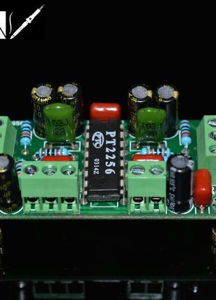 Электронный регулятор громкости PT2256 с тонкомпенсацией
