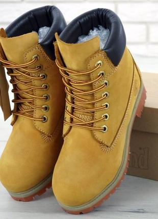 👢❄ женские ботинки демисезон timberland 6-inch classic premium...