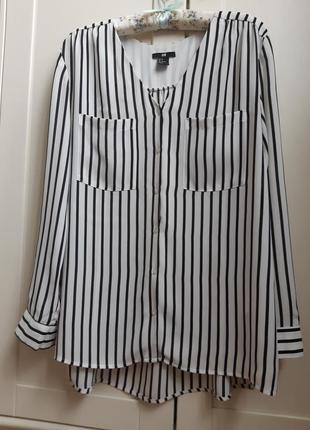 """Трендова блуза """"h&m"""" 38  розмір."""