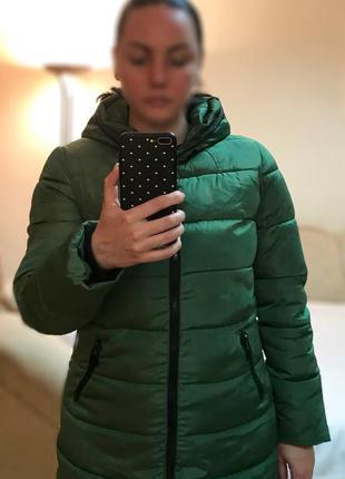 Стильная куртка с ушками на капюшоне