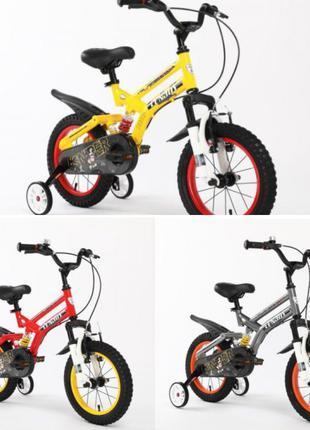 Велосипед-мотобайк двухколесный Sniper 14 дюймов с амортизацией