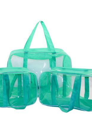 Набор из 3 сумок в роддом EcoNova S+M+XXL Плюс Сумки в роддом