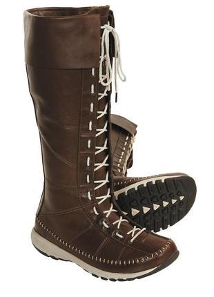 Стильные высокие зимние сапоги ботинки columbia