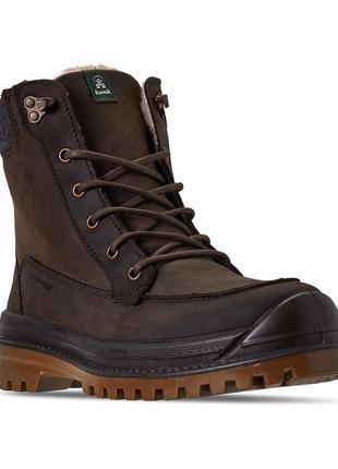 Теплые непр-ые ботинки kamik griffon 2 winter boots -30с 42-44