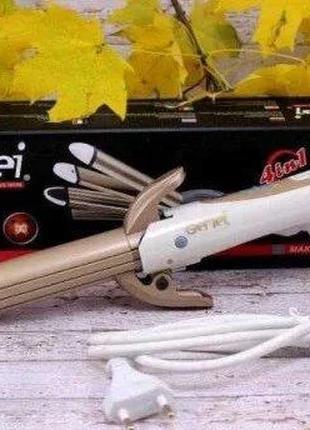Выпрямитель для волос Gemei GM-2962 4в1