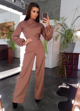 Комплект брюки+ блуза 5 кольорів