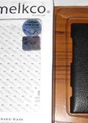 Чехол Melkco Leather Snap Cover Nokia Lumia 800-черный