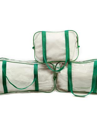 Набор из 3 сумок в роддом EcoNova Комфорт Сумки в роддом