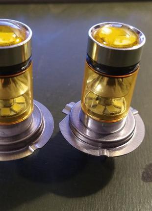 Лампы Led светодиодные для авто Н7 2 шт