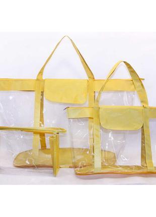 Набор из 2+1 сумок в роддом EcoNova Baby Pack Сумки в роддом