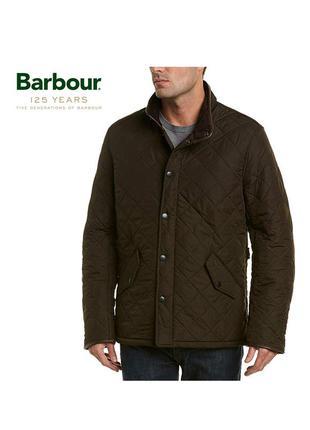 Стеганная куртка barbour men's powell quilted jacket - l