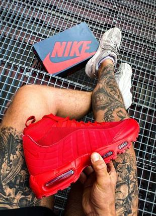 """Мужские кроссовки ◈ nike air max sneakerboot 95 """"red"""" ◈ 😍"""