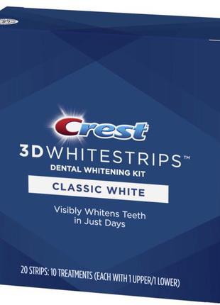 💥Black friday💥 Crest 3D Whitestrips Classic White Teeth Whitening