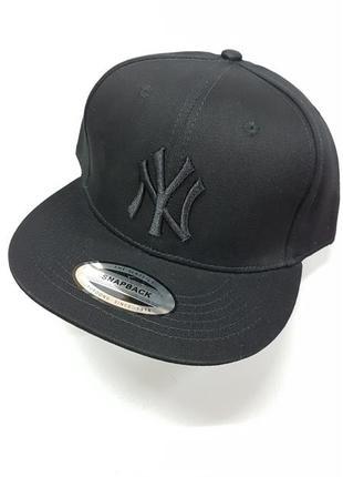 Snapback new york yankees кепка с прямым козырьком new york