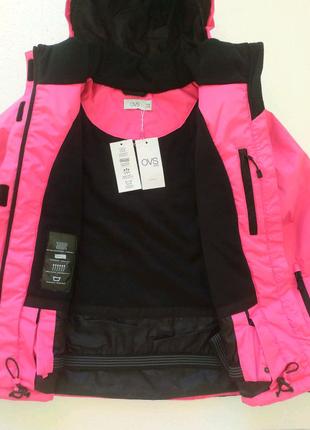 Теплая спортивная куртка ветровка на девочку