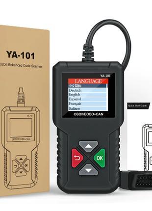 EDIAG YA101 диагностический авто сканер OBDII/EOBD + CAN, русский