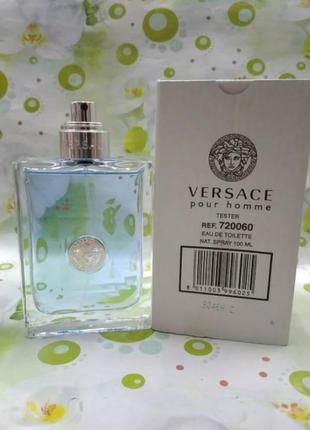 Versace pour homme 100 мл  туалетная вода для мужчин