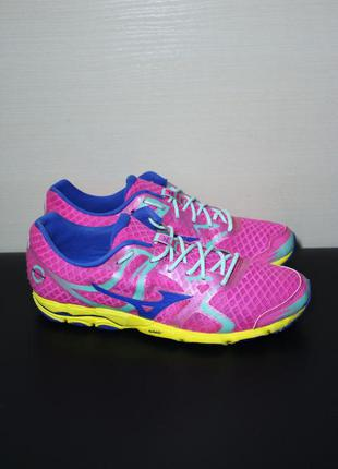 Оригинал mizuno wave hitogami женские беговые кроссовки для бе...