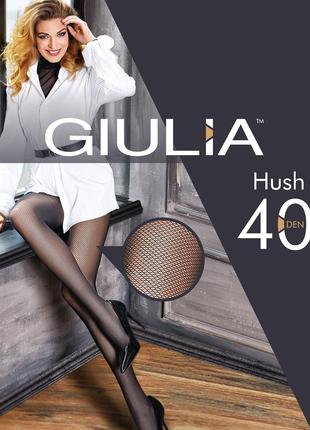 Женские колготки из фантазийной коллекции HUSH 40 (model 1)