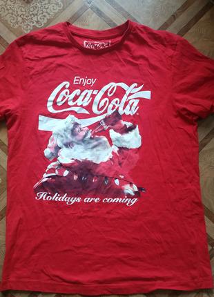 Футболка Coca-Cola Кока-Кола,Новый год