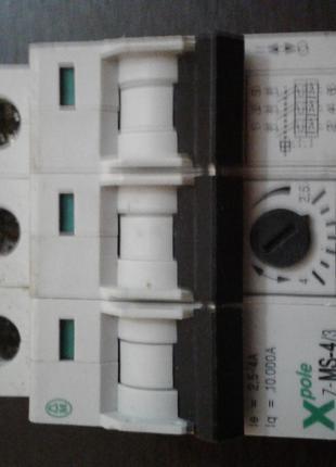 Автомат защиты двигателя 2,5-4,0А 380В.