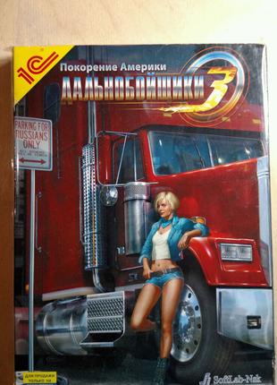 Игра диск Дальнобойщики 3 Покорение Америки для PC / ПК