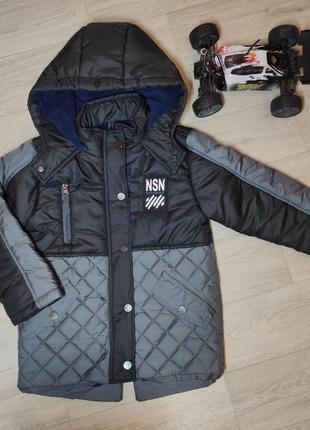 Зимняя куртка для мальчика. турция. (арт. 20138)