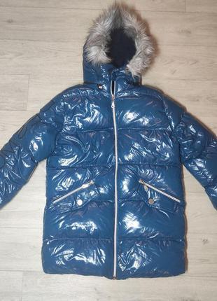 Зимняя теплая куртка для девочки. турция. (арт. 22)