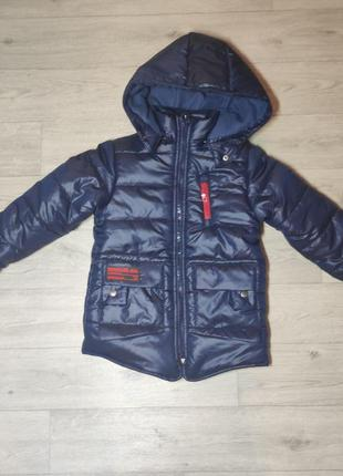 Зимняя куртка для мальчика. турция. (арт. 5115)