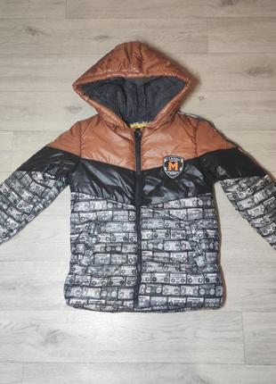 Зимняя, стильная куртка для мальчика. турция. (арт. 5114)