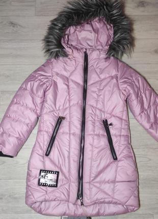 Красивая, зимняя куртка для девочки. турция (арт. 23003)