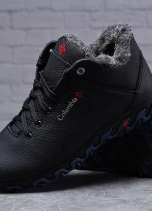 Columbia track ii мужские зимние кожаные ботинки 🆕зимняя обувь...