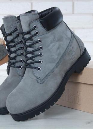 🥾❄ мужские зимние ботинки timberland 6-inch classic premium (а...