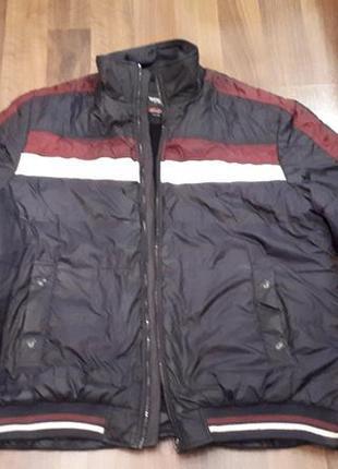 Куртка  мужская б/у , размер 54-56  (3xl), батал, турция