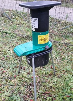 Измельчитель немецкий садовый для веток STEINMAX 1500 W дробилка